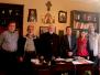 Visita della Delegazione regionale Caritas a Salonicco, maggio 2018