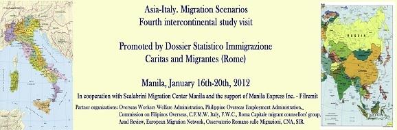 Manifesto Asia-Italia: scenari migratori
