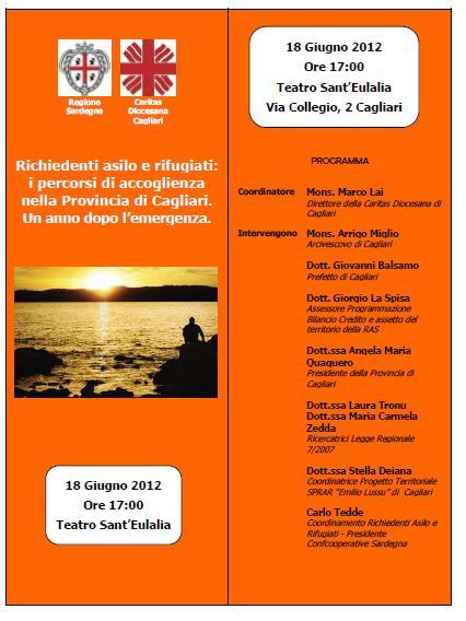 Locandina Convegno Cagliari 18.06.2012