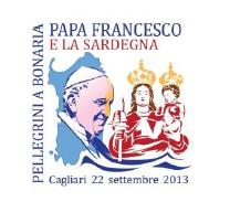 Logo Papa Francesco in Sardegna