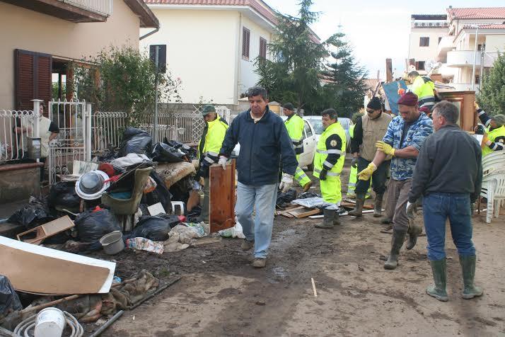 alluvione 2013 caritas olbia
