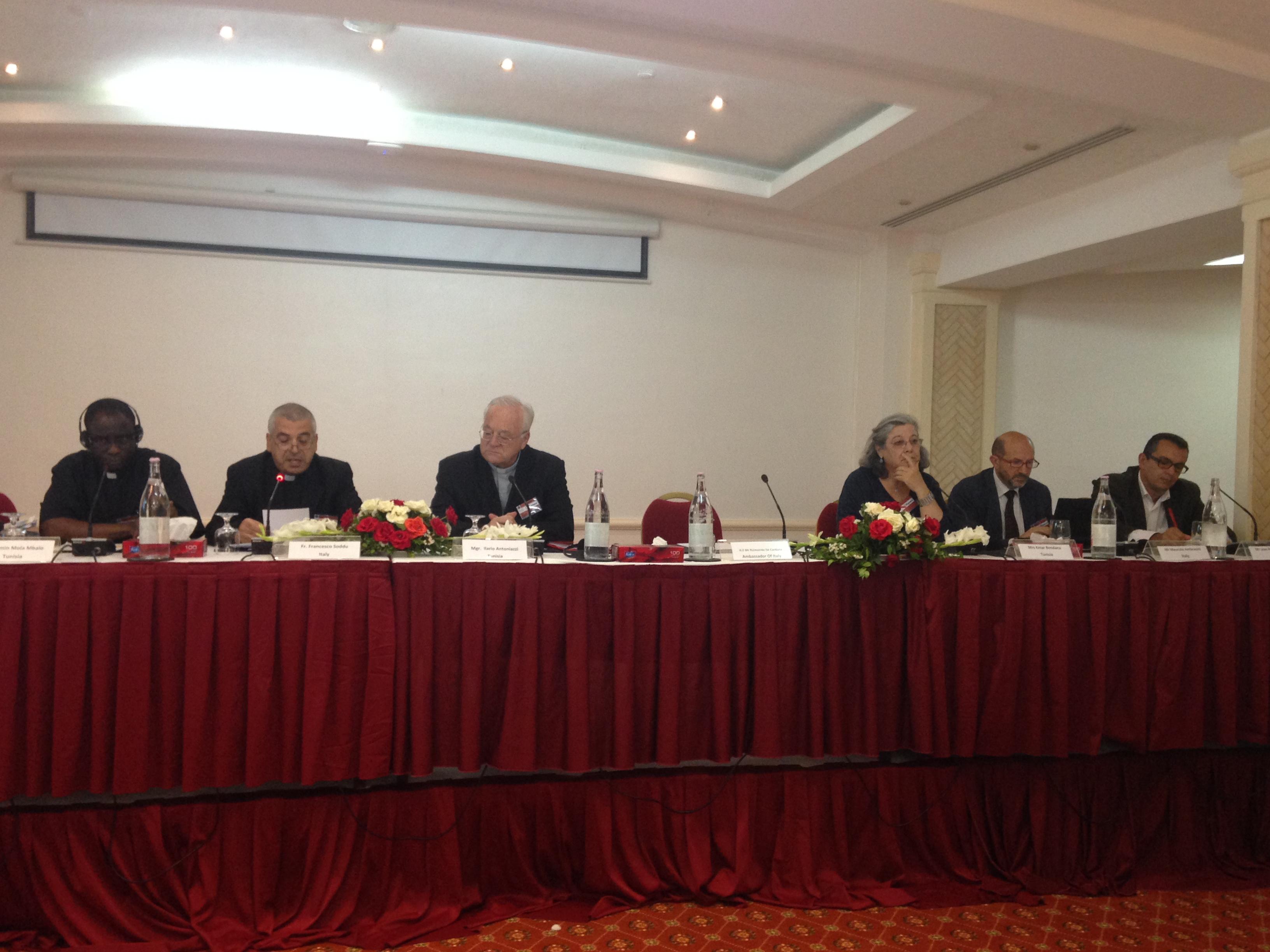 migramed Tunisi, prima giornta