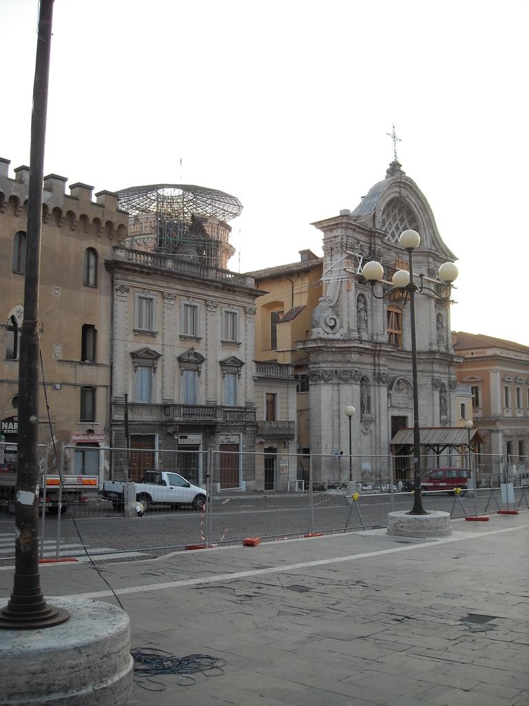 L'Aquila (settembre 2009)