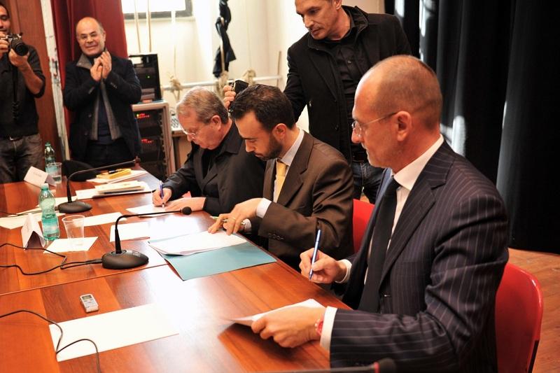 Firma del Protocollo d'intesa sull'ex Seminario di Cuglieri