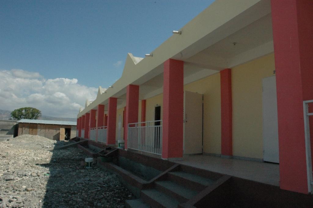 La scuola realizzata grazie alla Caritas Sardegna