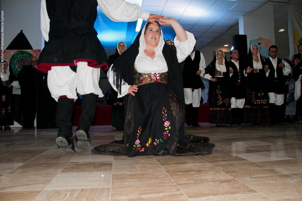 Il Gruppo folk di San Basilio