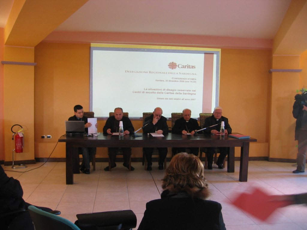 Sardara, Conferenza stampa (30 dicembre 2008)